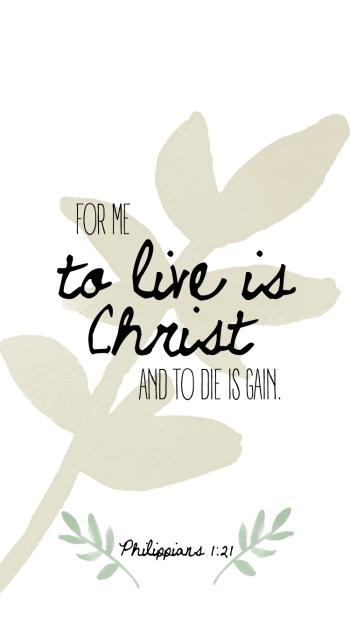 Philippians 1:21 (2)