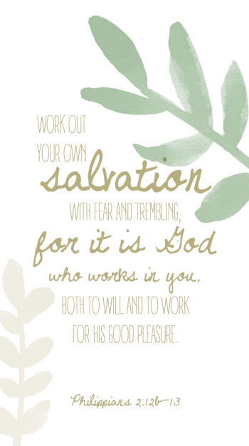 Philippians 2:12b-13 (2)